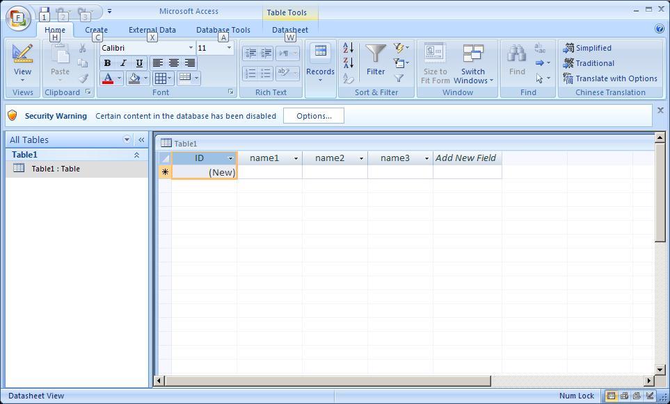 Connection Data1 >> C# - Operácie s Access databázami